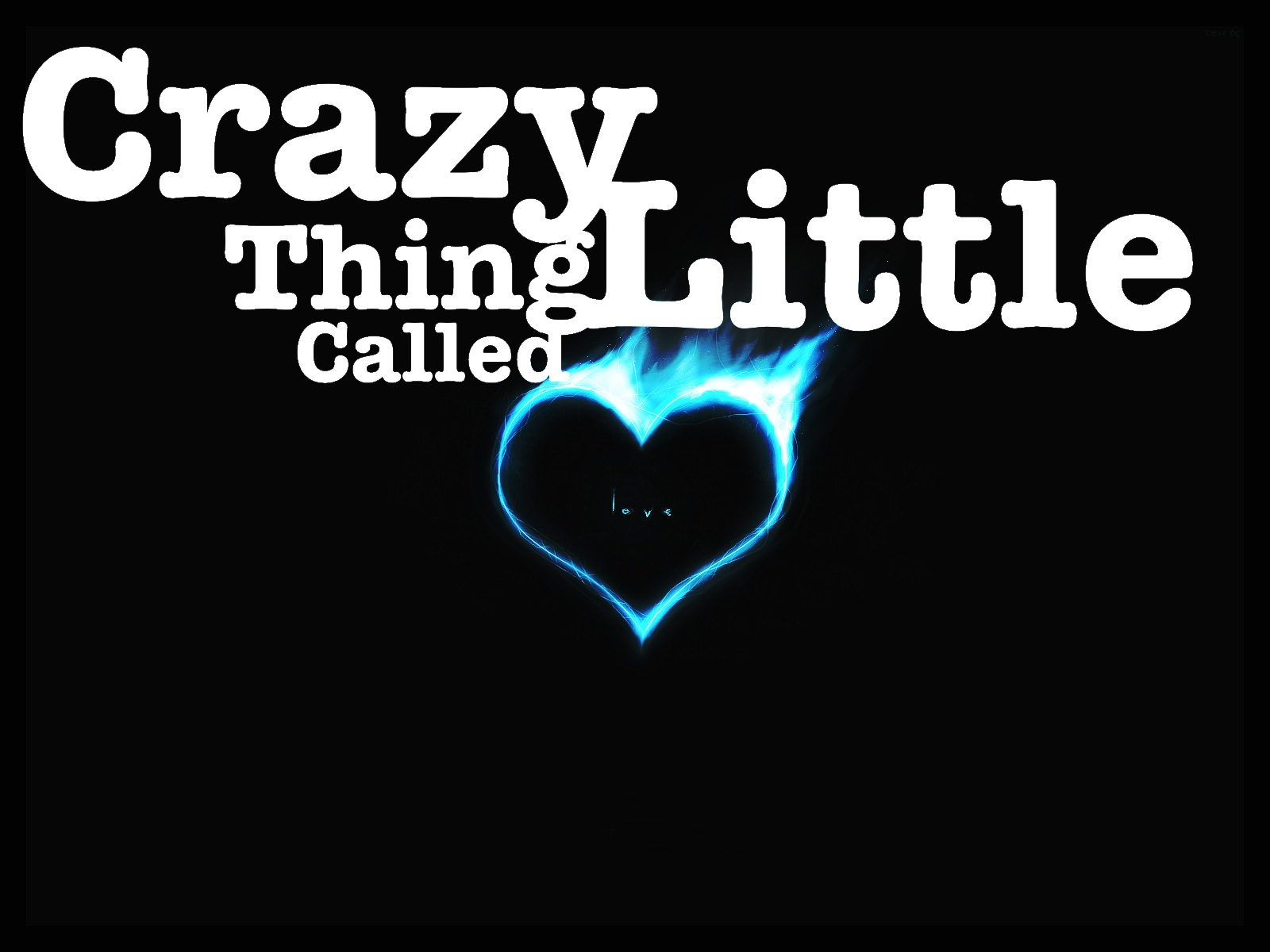 crazy little thing called love Watch the video for crazy little thing called love from michael bublé's caught in the act for free, and see the artwork, lyrics and similar artists.