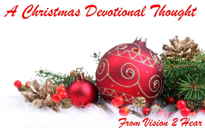 christmas devotional thought