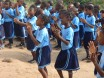 over 100 kids attend the primary school in Ututu.