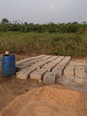blocks used for health clinic