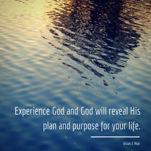 Experience God and God will reveal His