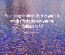 your thoughts philippians 4:8