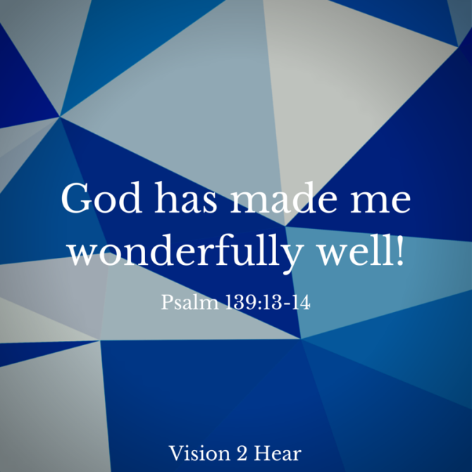 God has made me wonderfully complex!