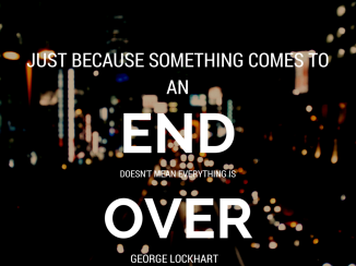 Just because something comes to an