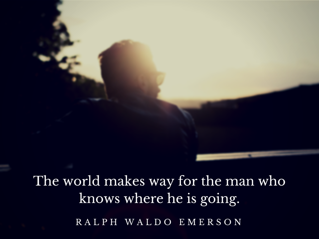 The world makes way for the man who