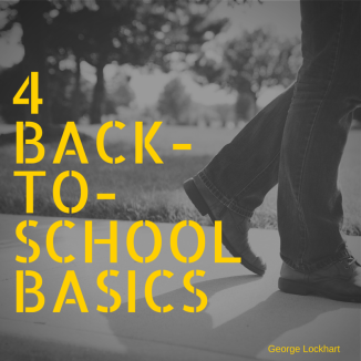 4 Back to school basics