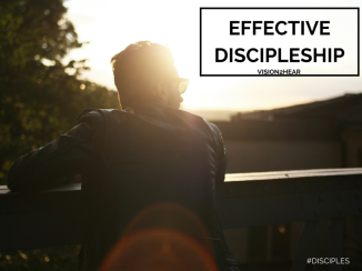 Effective discipleship