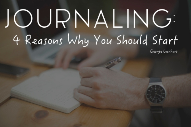 journal why you should start