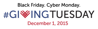 giving tuesday small logo white